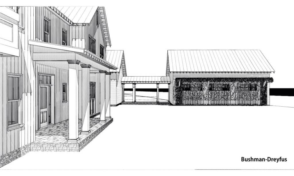 In progress free union residence element construction for Custom home builders charlottesville va